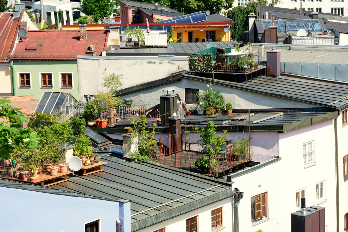 Jardin balcon ville