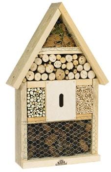 exemple hotel à insectes bois