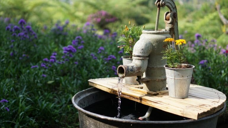 Quelle utilisation pour une pompe de puits?