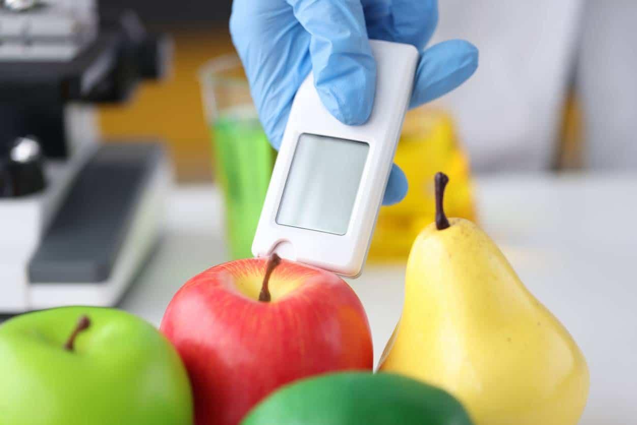 outil de mesure fruits production